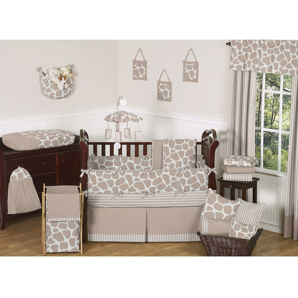 Sweet Jojo Designs Giraffe 9-piece Crib Bedding Set