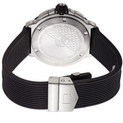 Tag Heuer Men's CAU1110.FT6024 'Formula 1' Black Dial Black Rubber Strap Quartz Watch