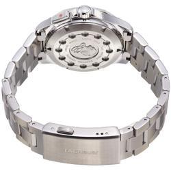 Tag Heuer Men's WAP111Z.BA0831 'Aquaracer' Black Dial Stainless Steel Alarm Watch - Thumbnail 1