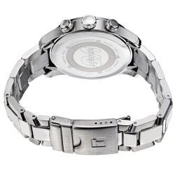 Tissot Men's T039.417.11.057.02 'V 8' Black Dial Stainless Steel Chronograph Quartz Watch