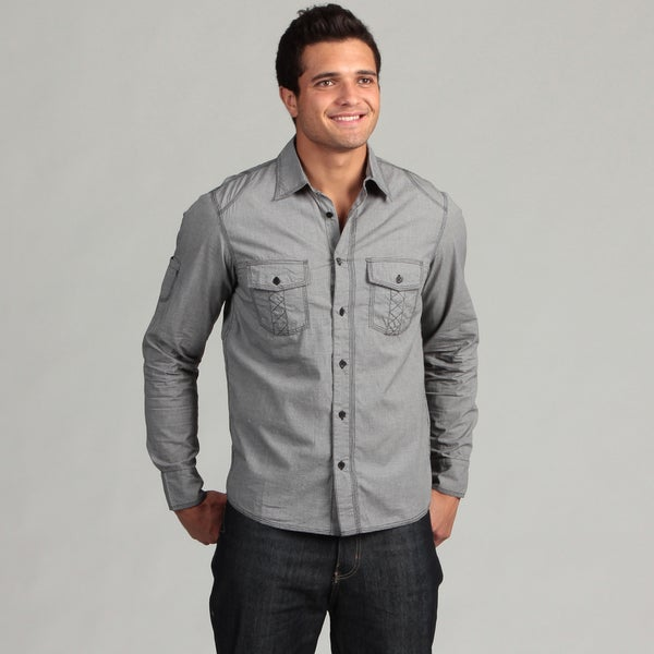Black Hearts Brigade Men's Woven Shirt