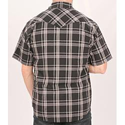 Farmall IH Men's Black Plaid Shirt - Thumbnail 1