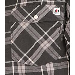 Farmall IH Men's Black Plaid Shirt - Thumbnail 2