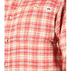 Farmall IH Men's Red Plaid Flannel Shirt - Thumbnail 2