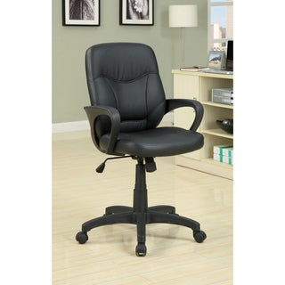 Furniture of America Slader Executive Padded Leatherette Office Chair