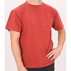 Farmall IH Men's Red Cotton Pocket T-shirt