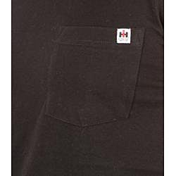 Farmall IH Men's Black Cotton Muscle Tee - Thumbnail 2