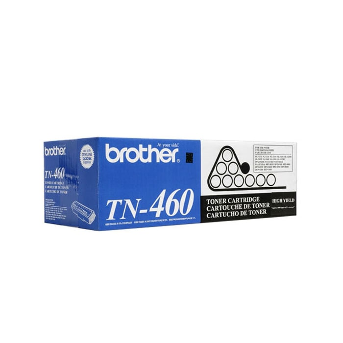 Brother TN 460 Black Toner Cartridge - Thumbnail 0