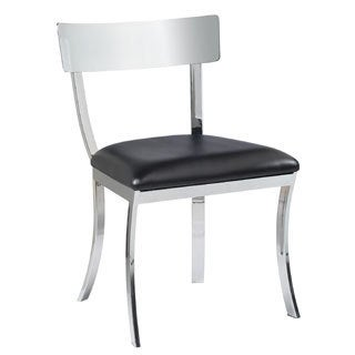 Sunpan 'Ikon' Maiden Metal Black Dining Chairs (Set of 2)
