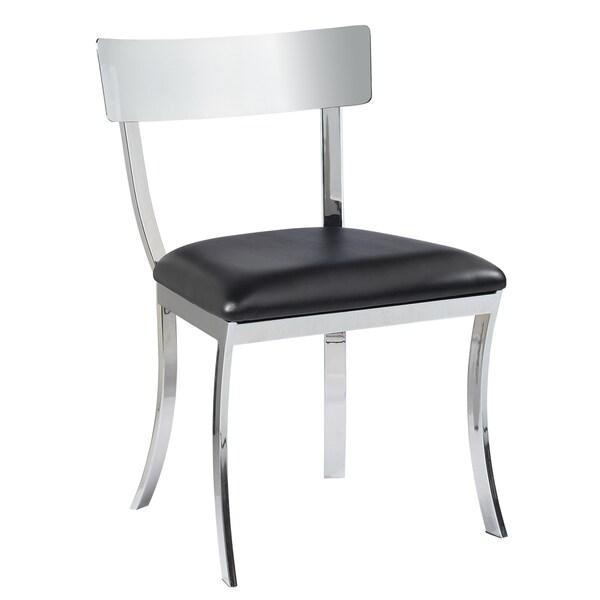 Sunpan 'Ikon' Maiden Metal Black Dining Chairs (Set of 2)