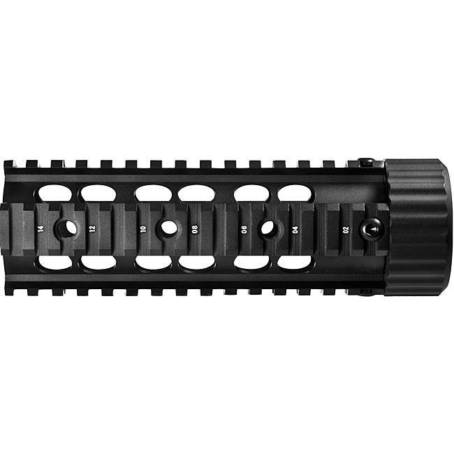 Barska AR Forend 6.75-inch Aluminum Quad Rail (Free-floating Platform)