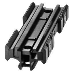 AR Flat Top Riser Mount with Additional Rails - Thumbnail 1