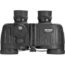 Barska 8x30 Battalion Binoculars with Internal Rangefinder and IR Compass - Thumbnail 1