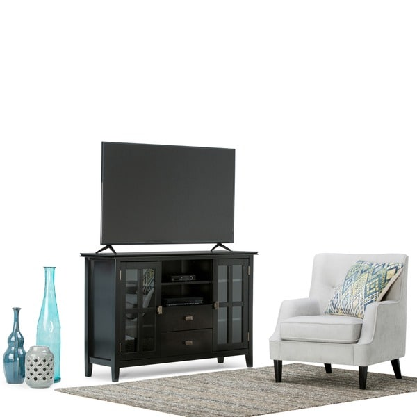 Wyndenhall Stratford Tall Tv Stand For Tv S Up To 60