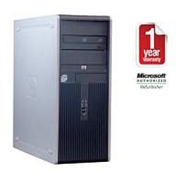 HP Compaq DC7900 Intel Core 2 Duo 2.66GHz CPU 4GB RAM 750GB HDD Windows 10 Pro Minitower Computer (Refurbished) - Thumbnail 1