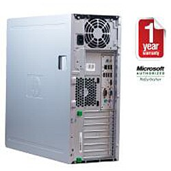 HP Compaq DC7900 Intel Core 2 Duo 2.66GHz CPU 4GB RAM 750GB HDD Windows 10 Pro Minitower Computer (Refurbished) - Thumbnail 2
