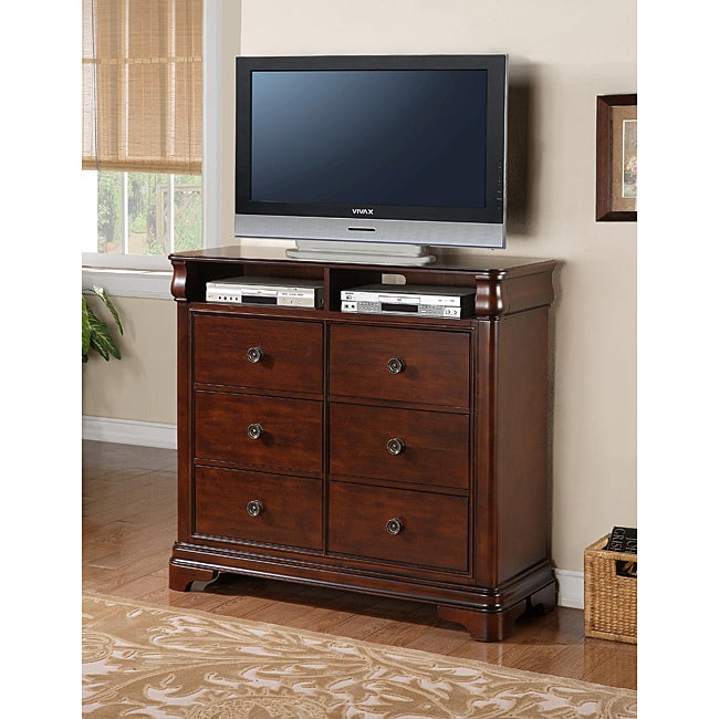 Picket House Furnishings Conley Cherry Media Chest