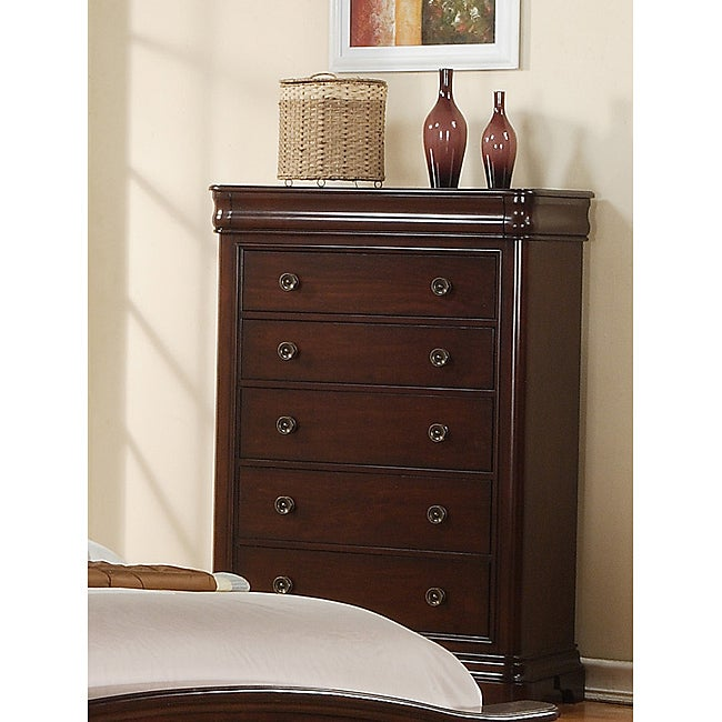 Picket House Furnishings Conley Cherry Chest - Thumbnail 0