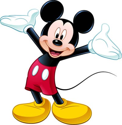 Mickey Mouse Peel and Stick Giant Wall Decal
