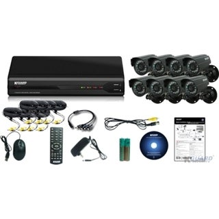 Kguard All-in-One Surveillance Combo Kit - 8CH H.264 DVR with 8 CMOS