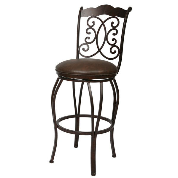 Athena 26-inch Swivel Counter Stool