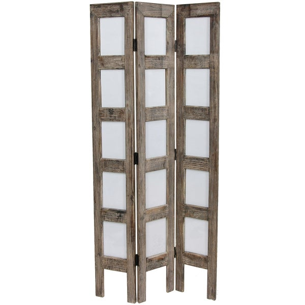 Narrow Photo Frame 3.75' Room Divider (China)