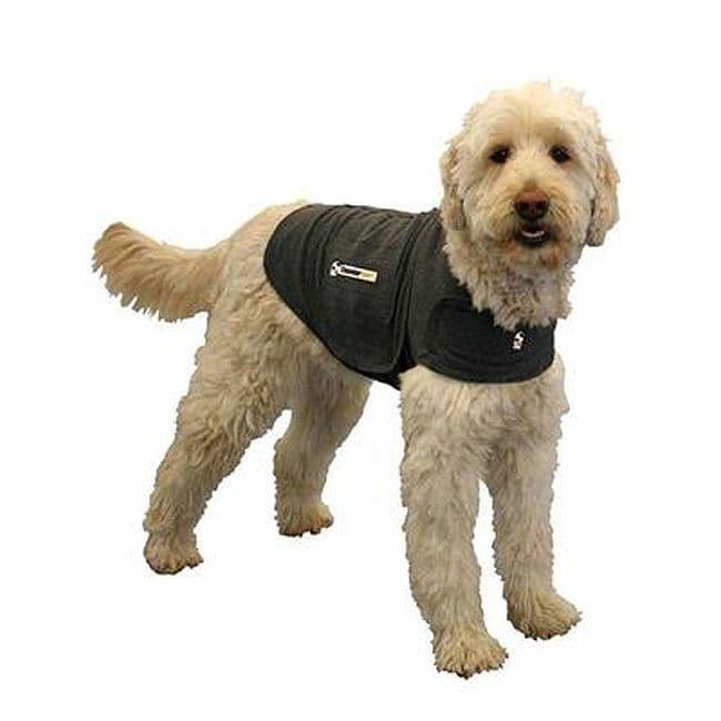 Thundershirt Cotton Pet Calming Shirt (Small - Charcoal Gray)