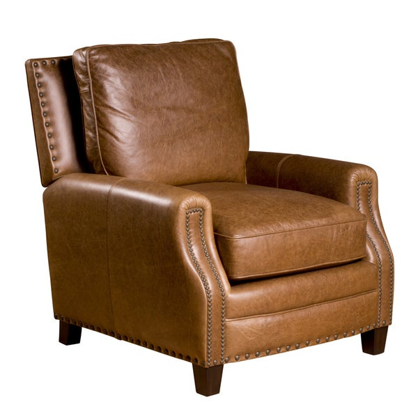 Bradford Leather Chair in Chaps Saddle