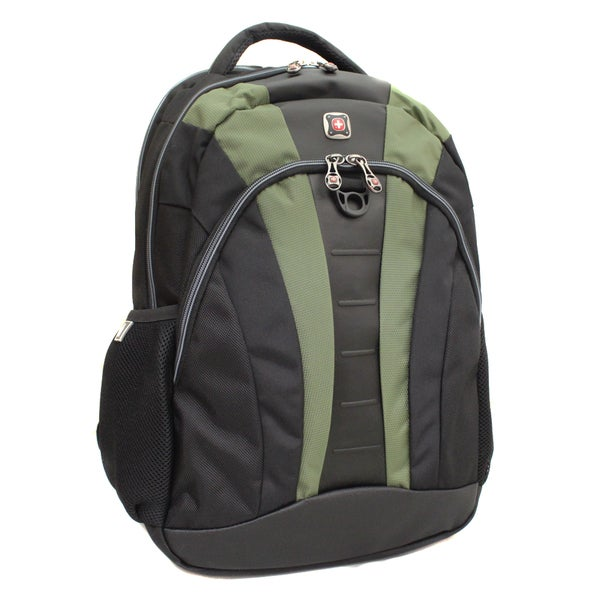 Wenger Swiss Gear Marble Green 16-inch Laptop Computer Backpack