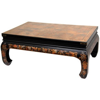 Gold Leaf Peaceful Village Coffee Table (China)