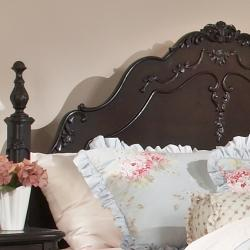 TRIBECCA HOME Fairytale Victorian Princess Dark Brown Queen-size Bed - Thumbnail 1