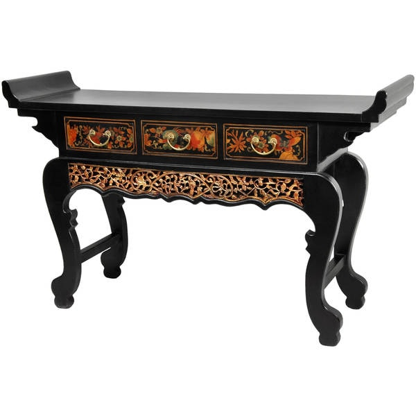 Black Lacquer Altar Table (China)