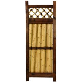 Oriental Home Japanese Bamboo 4x1.5-foot Zen Garden Fence (China)