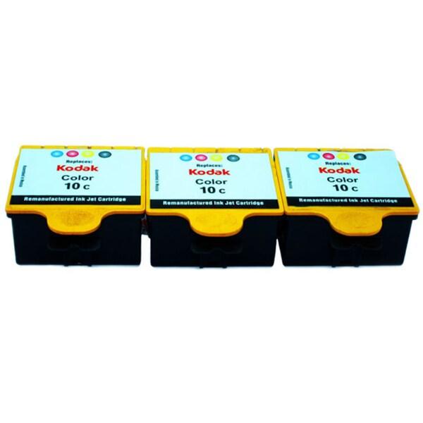Kodak 10 Tricolor 3 Pack (Remanufactured)