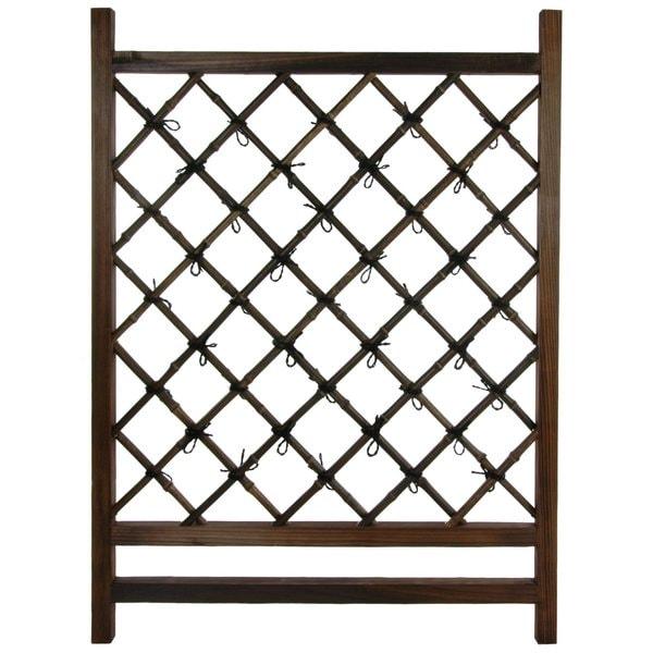 Handmade Japanese Garden Bamboo Fence Door (China)