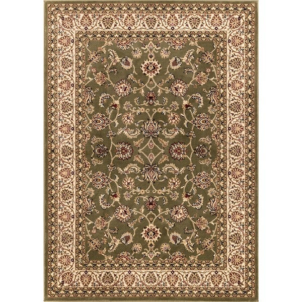 Well Woven Ariana Palace Green Area Rug - 6'7 x 9'6