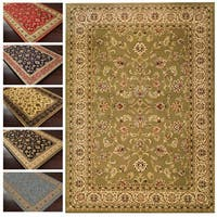 "Well Woven Oriental Detailed Palace Green Area Rug - 5'3"" x 7'3"""