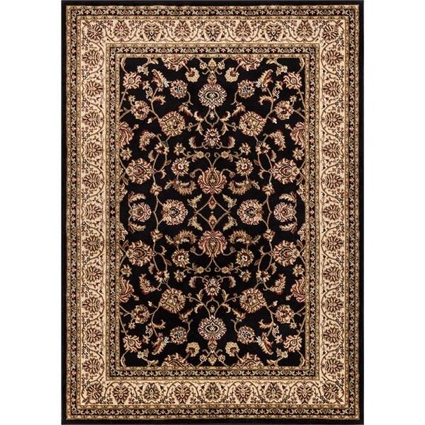 Well Woven Ariana Palace Black Area Rug - 6'7 x 9'6