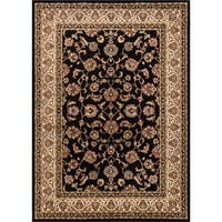 Well Woven Ariana Palace Black Area Rug - 6'7 x 9'6