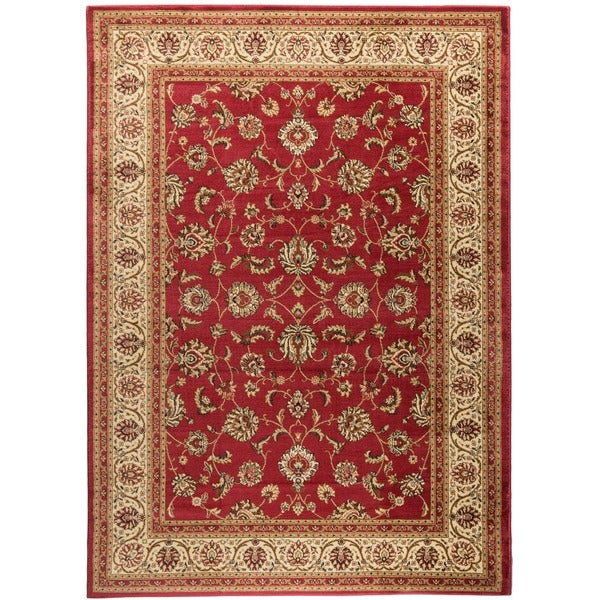 """Well Woven Ariana Palace Red Area Rug - 6'7"""" x 9'6"""""""