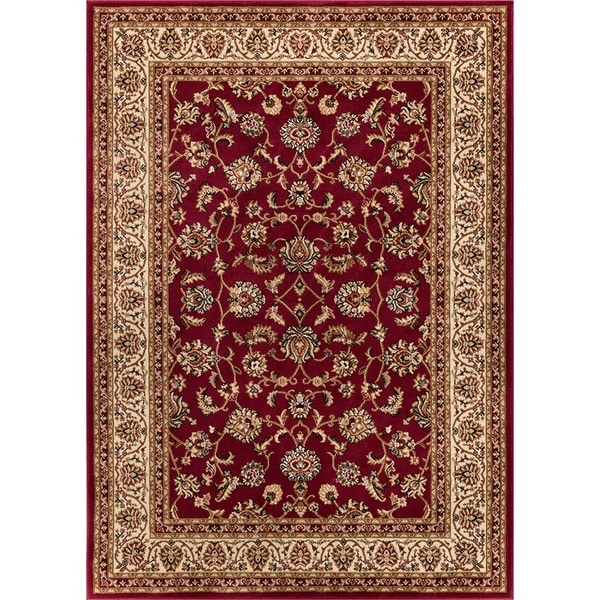 "Well Woven Ariana Palace Red Area Rug - 3'11"" x 5'3"""