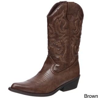 Madden Girl Women's 'Siinger' Cowboy Boots FINAL SALE