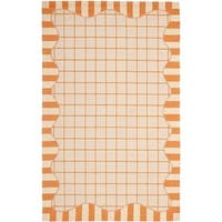 """Safavieh Hand-hooked Chelsea Ivory/ Gold Wool Rug - 7'-9"""" x 9'-9"""""""