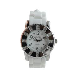 Nemesis Women's Trendy White-Dial Nightlife Watch