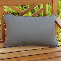 Clara Grey Outdoor Sunbrella Pillows (Set of 2)