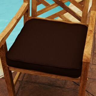 Clara Brown 19-inch Square Indoor/ Outdoor Sunbrella Chair Cushion