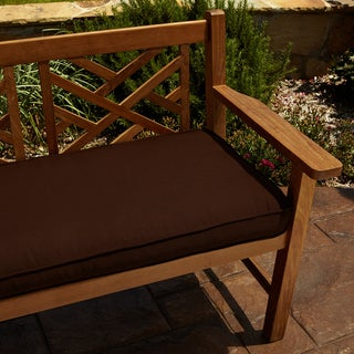 Clara Brown 48-inch Indoor/ Outdoor Sunbrella Bench Cushion