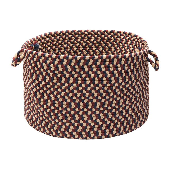 Stable Hill Burgundy Colored Basket