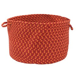 Color Market Red Colored Basket