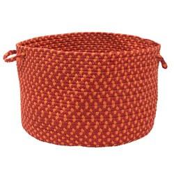 Color Market Red Colored Basket